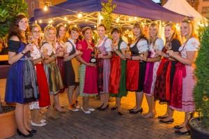Weinparade Würzburg Weinprinzessinnen
